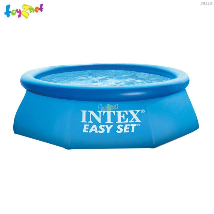 Intex สระอีซี่เซ็ต 8 ฟุต (244 ซม.) สีฟ้า รุ่น 28110
