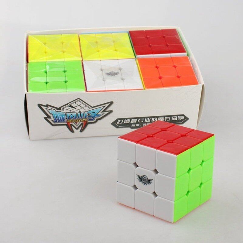 Jiayiqi Childen Kid's Magic Cube 3x3x3 Strengthened Version Colorful Learning & Educational Rubik's Cube Toys - intl image