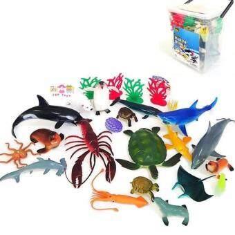 JKP Toys โมเดลพลาสติกเกรดดี ลายสัตว์ทะเลเเละขั้วโลก