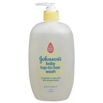 Johnson's baby top-to-toe wash 500ml. (1ขวด)