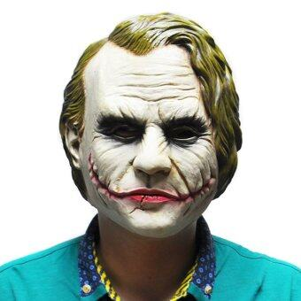Joker Mask Batman Costume Cosplay Movie Adult Party MasqueradeRubber Latex Masks for Halloween