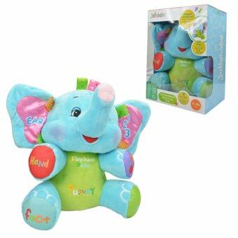 Jolly Baby ตุ๊กตาเสียงดนตรี สอนภาษา น้องช้างสีฟ้า