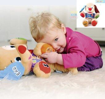 Jolly Baby ตุ๊กตาน้องหมาอัจฉริยะสอนภาษาเสริมพัฒนาการ Tummy Jolly Baby