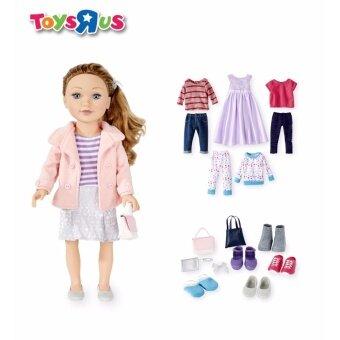 ของเล่น - ชุดเซทตุ๊กตาเด็กผู้หญิง - ตุ๊กตาพร้อมชุดแต่งตัว - JOURNEY GIRLS LIMITED EDITION - DOLL & COMPLETE WARDROBE (TRU-896982)