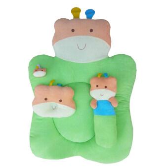 JUJU ชุดที่นอนผ้าขนหนู รูปหมี รุ่น JE104(สีเขียว)