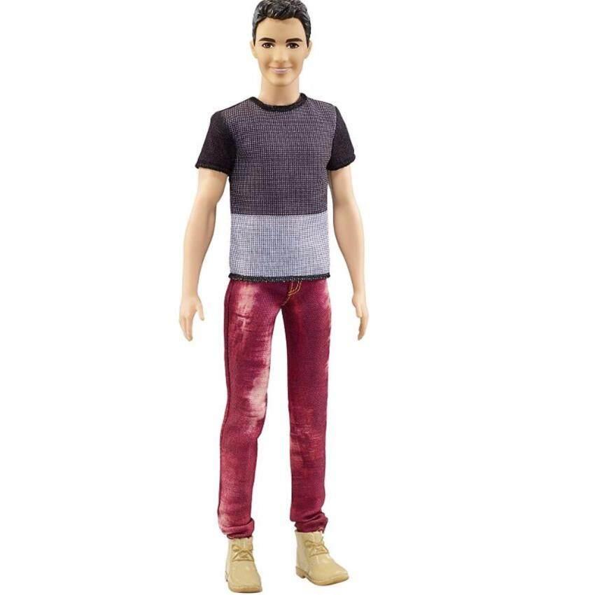 Ken® Fashionistas® Doll 6 Color Blocked Cool image