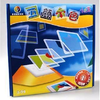 Kidzashop ของเล่นฝึกเชาวน์และมิติสัมพันธ์ ชุด Geometric ShapesColors