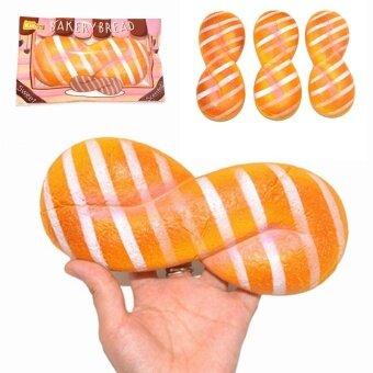 Kiibru Squishy 8 Shape Bread release stress gift Toy - intl