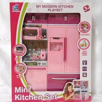 kitti it ชุดเซ็ทห้องครัวบาร์บี้ มีเสียงเละมีไฟ