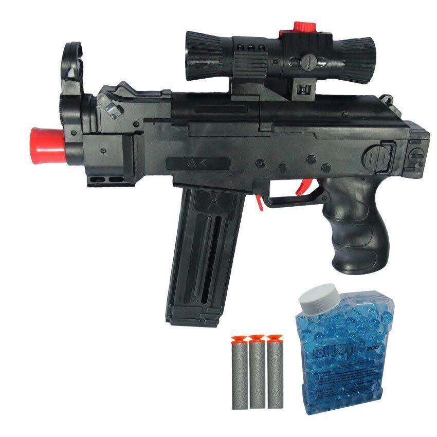 KNK TOY ปืน ปืนAK46 ยิงกระสุนโฟม+กระสุนน้ำ AK46