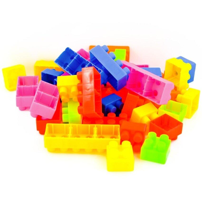 Korya ตัวต่อของเล่นสำหรับเด็ก ช่วยเสริมพัฒนาการและการเรียนรู้ จำนวน 42 ชิ้น คละสี จำนวน 1 ชุด