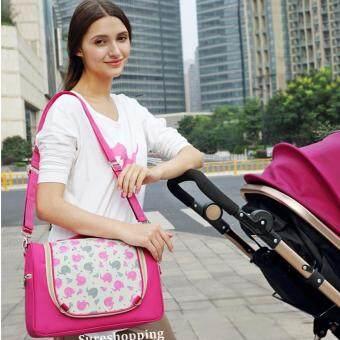 กระเป๋าใส่ของลูก กระเป๋าคุณแม่ื กระเป๋าใส่ขวดนม กระเป๋าคุณแม่ลูกอ่อน เตรียมของใช้ทารก เตรียมของใช้ทารกแรกเกิด กระเป๋าใส่ของเด็ก ลายช้าง