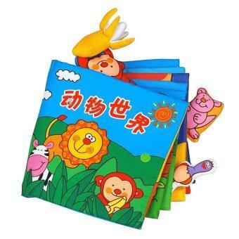Lalababy ทารกสามมิติสัมผัสหนังสือเด็กปฐมวัยการศึกษาของเล่น