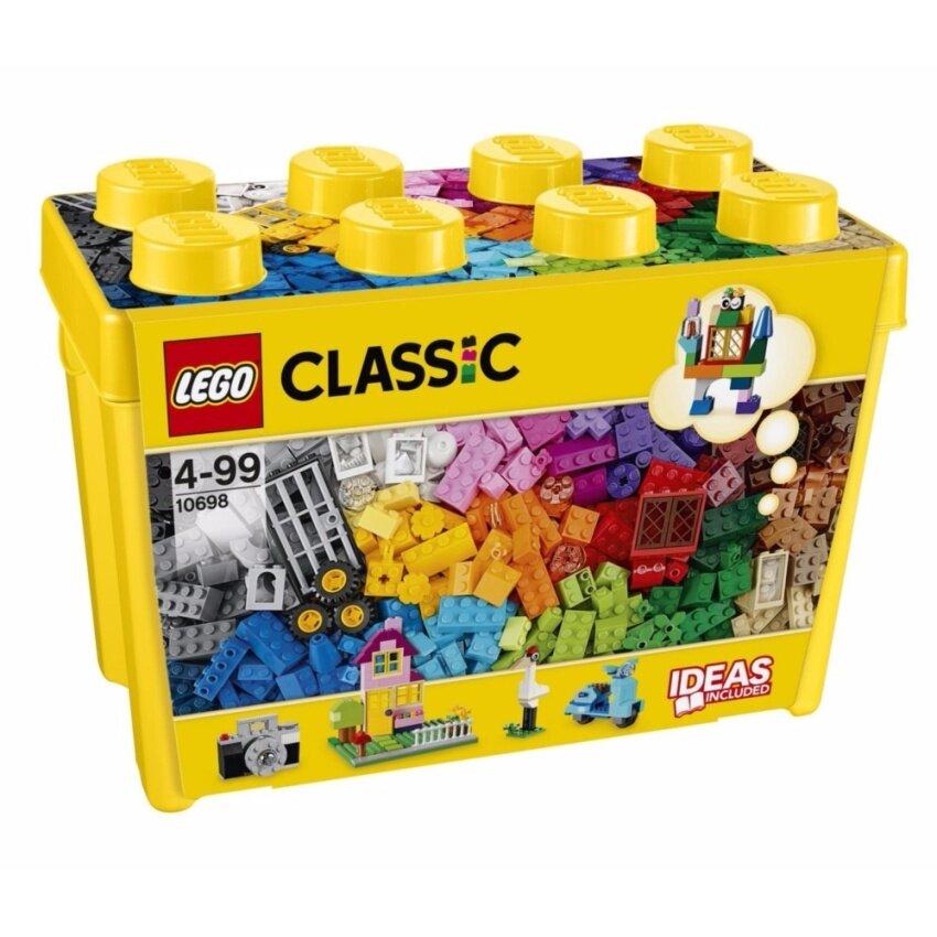 LEGO ตัวต่อเสริมทักษะ เลโก้ คลาสสิค ลาร์จ ครีเอทิฟว บรีค บล็อก - 10698