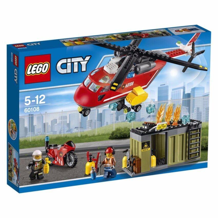 LEGO ตัวต่อเสริมทักษะ เลโก้ ไฟร์ ไฟร์ ริซพอนซ ยูนิท - 60108