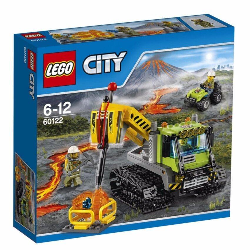 LEGO ตัวต่อเสริมทักษะ เลโก้ ซิตี้ อิน/เอาท์ โวลเคโน่ ครอลเลอร์ - 60122