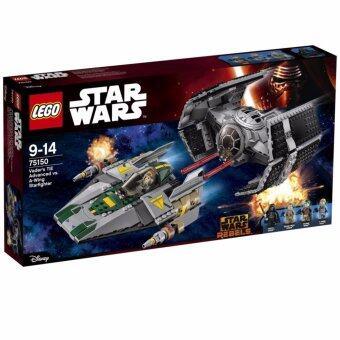 LEGO ตัวต่อเสริมทักษะ เลโก้ สตาร์ วอร์ แวเดอร์ ไท เอดเว้รนเคด วีเ -75150