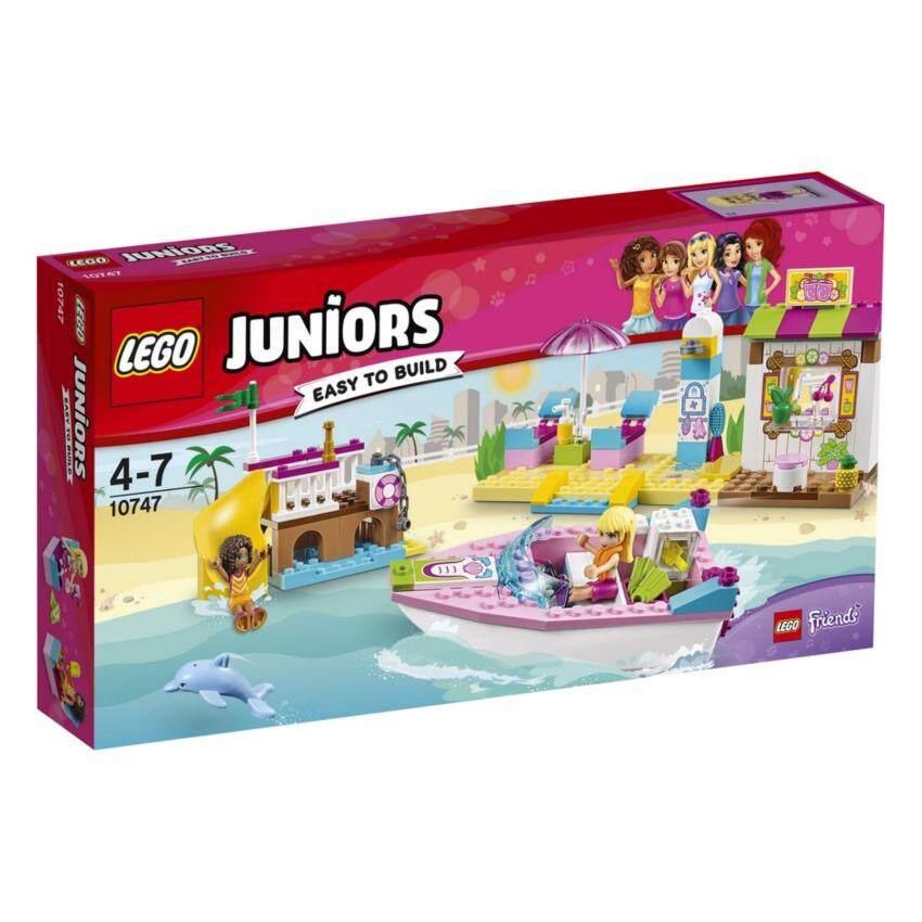 LEGO ตัวต่อเสริมทักษะ เลโก้ จูเนียร์ แอนเดรีย แอนด์ สเตฟานี บีช ฮอลิเดย์ Andrea & Stephanie's Beach Holiday - 10747