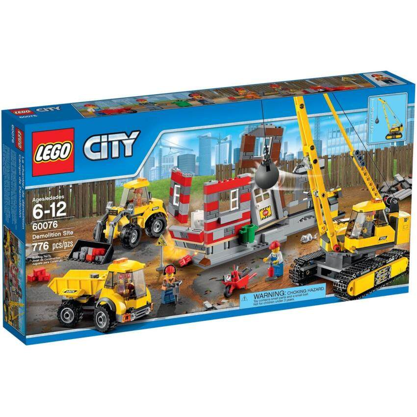 LEGO City 60076 Building Demolition Site