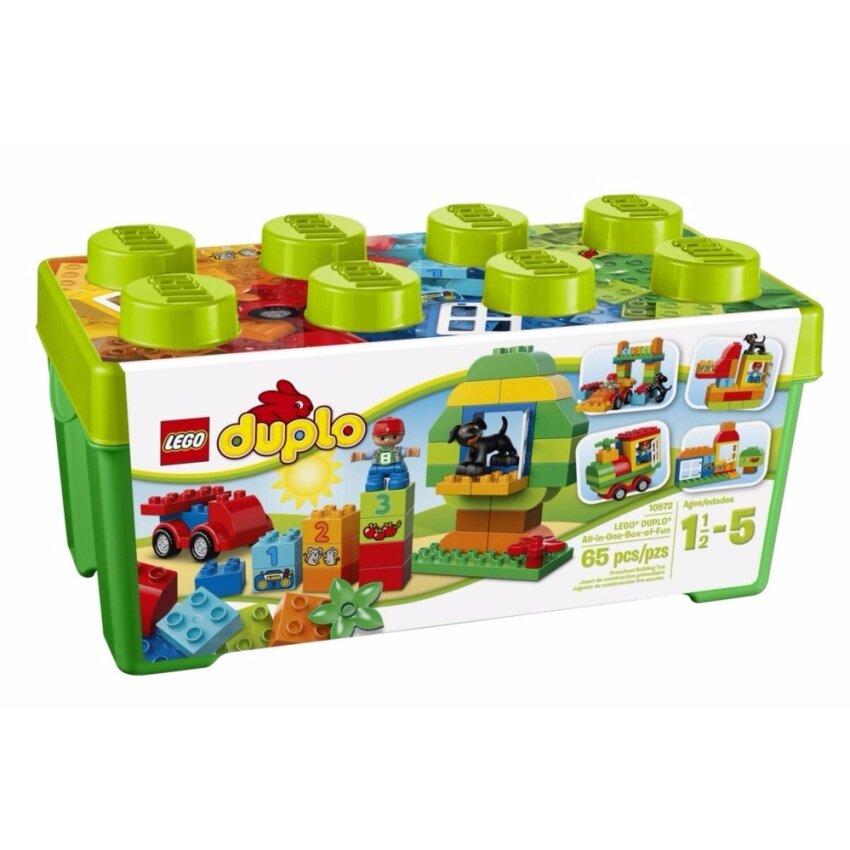 LEGO ตัวต่อเสริมทักษะ เลโก้ ดูโปล ออล อินวัน กรีน LEGO DUPLO ALL-IN-ONE GREEN L10572