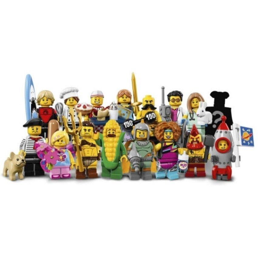 LEGO Minifigures 71018 Series 17 (Complete 16 Packs)