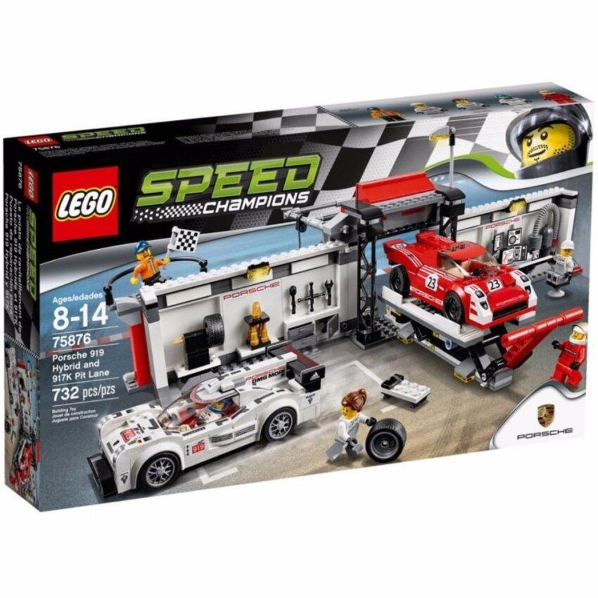 LEGO Speed Champions 75876 Porsche 919 Hybrid & 917K Pit Lane image