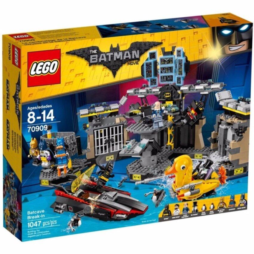 LEGO The Lego Batman Movie 70909 Batcave Break-In