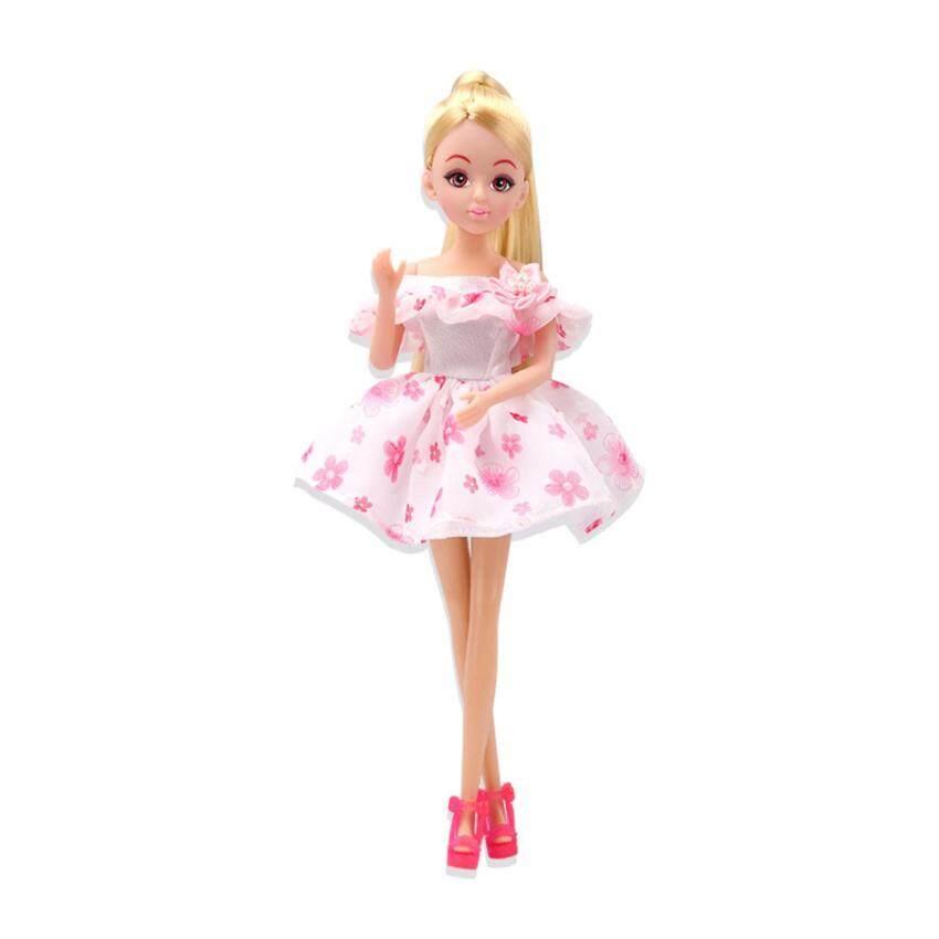 Lelia ตุ๊กตาหน้าแบ๊ว (ชุดสีขาวลายดอก)