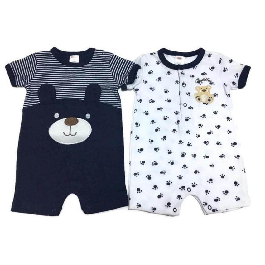LITTLE BABY M เสื้อผ้าเด็กเล็ก ชุดหมีแพ็คคู่ R32