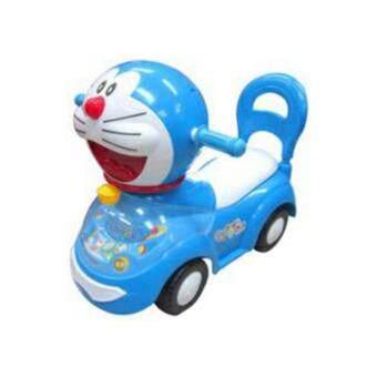 Lookmee Shop รถขาไถเด็ก หัว Doraemon (สีฟ้า)