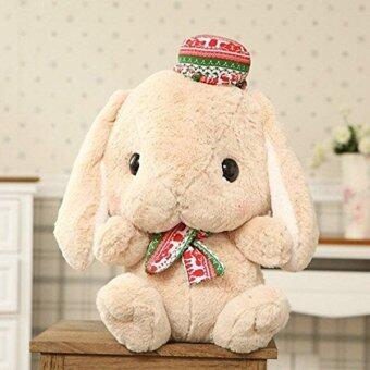 ตุ๊กตากระต่ายญี่ปุ่นอัดเสียงพูดได้ รุ่น Loppy สีน้ำตาล