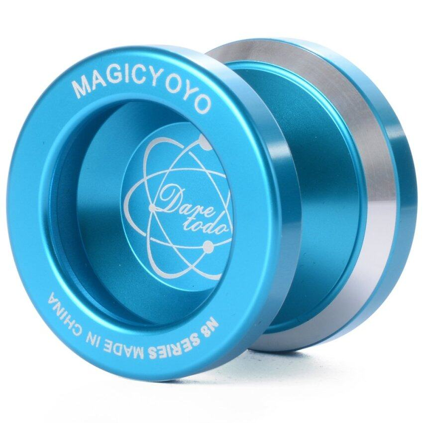 Magicโยโย่ อลูมิเนียมBall N8 Bearing Reel (สีฟ้า)