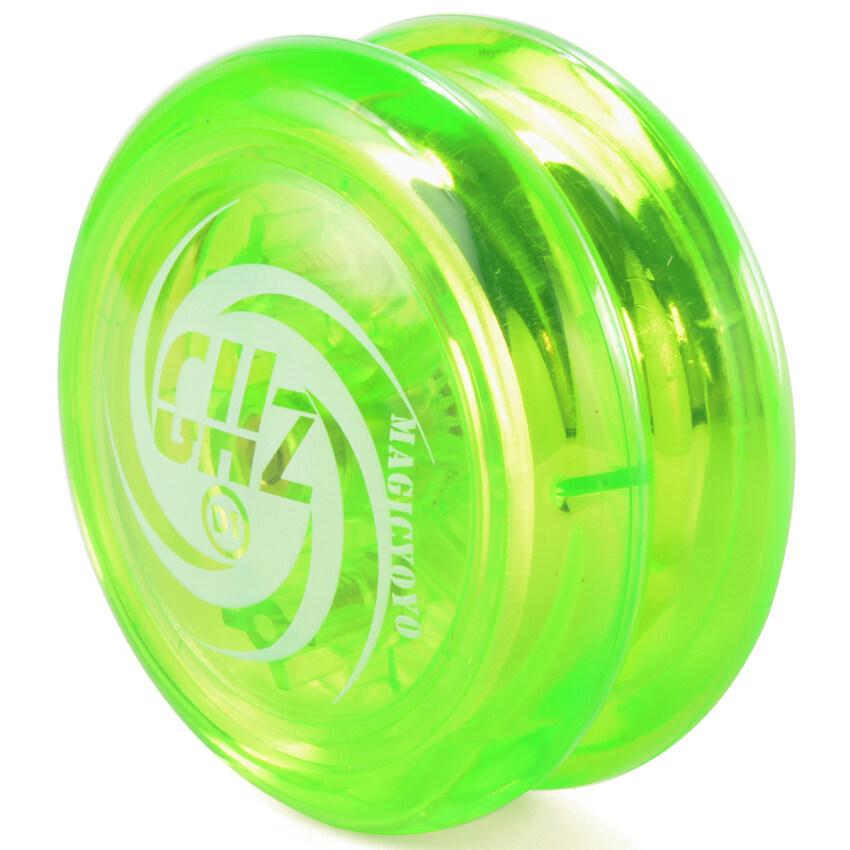 อ่อนไหว Magic YOYO D1 ขมวดกลม (2 amps) โยโย่โย่เล่น+สตริง (สีเขียว) image