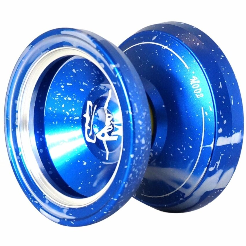 Magic yoyo M002 April alloy Professional yoyo Ball(blue) - intl