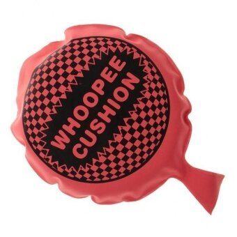 MagiDeal Self Inflation Whoopee Cushion Jokes Gags Pranks Party FunMaker Toy Red - intl