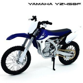 Maisto โมเดล รถวิบาก YAMAHA YZ450F สีน้ำเงินขาว (Scale 1:12)