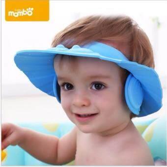 Mambo หมวกกันแชมพู รุ่นปิดหู (สีฟ้า) - 2
