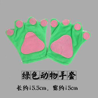 Manxiang ฮาโลวีนสถานรับเลี้ยงเด็กโรงเรียนสัตว์ถุงมือ