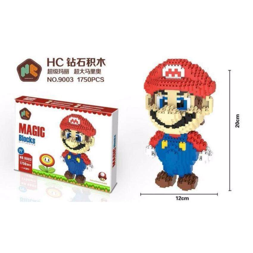 ตัวต่อ Mario หมวกแดง ชุดใหญ่ จำนวน 1550 ชิ้น