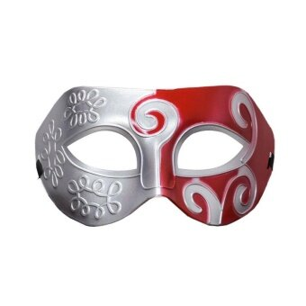Mask Carved Flowers Fashion Face Prom Jazz Prince Fancy Protector Costume - intl
