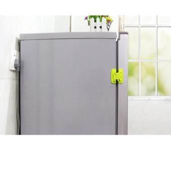 max ล็อคประตู-ตู้-ตู้เย็น กันเด็กเปิด สีชมพู - 2