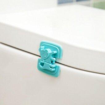 max ล็อคประตู-ตู้-ตู้เย็น กันเด็กเปิด สีชมพู - 3