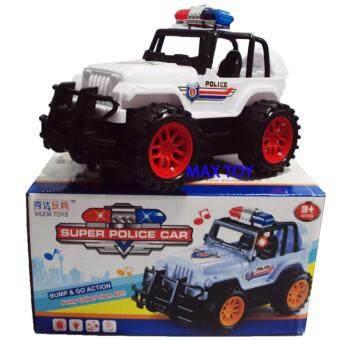 MAX TOY ของเล่น รถเด็กเล่น รถตำรวจมีเสียงและไฟ 88-29