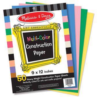 Harga Melissa & Doug Multi-Color Construction Paper