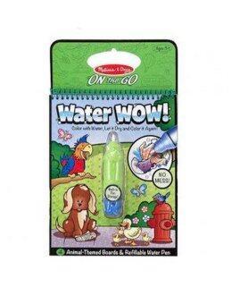 Melissa & Doug Water Wow สมุดชุดระบายสีด้วยน้ำ Animal