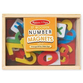 MelissaDoug Magnetic Wooden Numbers