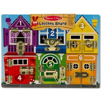MelissaDoug Wooden Latches Board