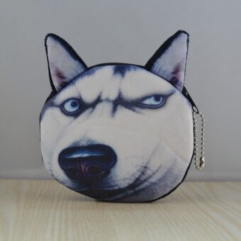 Miaoxingren น่ารักจำลองสุนัขเหรียญกระเป๋าคิตตี้กระเป๋าเงิน