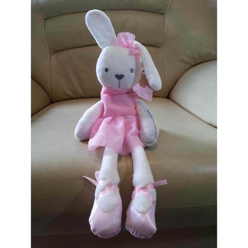 ตุ๊กตากระต่าย Millie ชุดชมพู (Mamamiya & Papas)