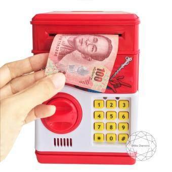 กระปุกออมสินใส่แบงค์ กระปุกออมสินสไปเดอร์แมน Mini ATM Spider man (กระปุกออมสิน มินิ เอทีเอ็ม สไปเดอร์แมน)